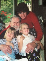 grampa and girls TBT